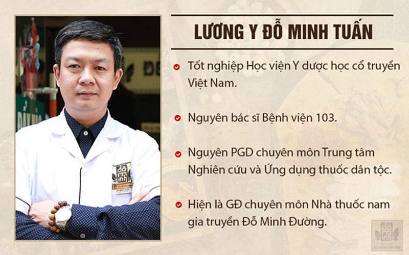 Lương y Đỗ Minh Tuấn chữa thận yếu suốt gần 20 năm