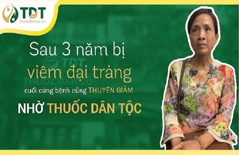 Cô Kim Vân chữa đại tràng tại Thuốc dân tộc