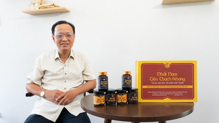 Chú Nam từng nhiều lần đi chữa trị sỏi mật nhưng đều không đtạ được hiệu quả như mong muốn