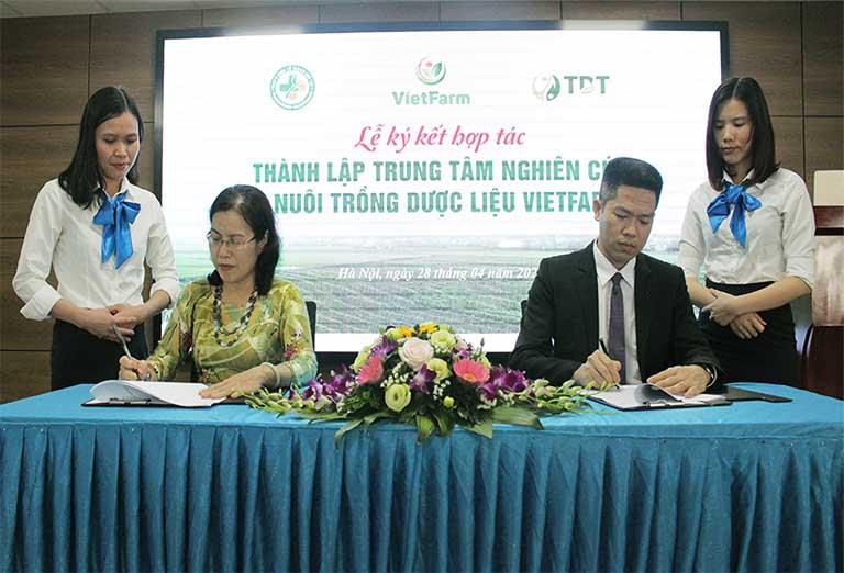 Trung tâm Dược liệu Vietfarm chính thức được thành lập