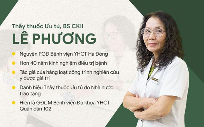 Một số thông tin bác sĩ Lê Phương