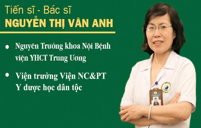 Chuyên gia cầu nối sức khỏe tiến sĩ, bác sĩ Nguyễn Thị Vân Anh