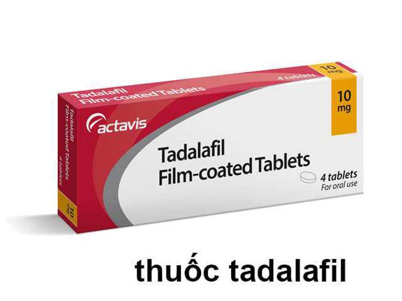 Thuốc điều trị rối loạn cương dương tốt nhất Tadalafil