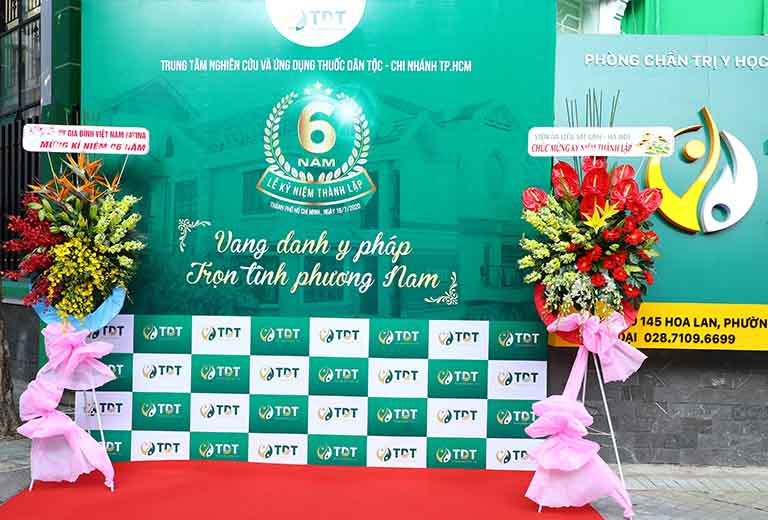 Chủ đề xuyên suốt toàn bộ buổi lễ chúc mừng 6 năm thành lập Trung tâm Thuốc dân tộc chi nhánh phương nam