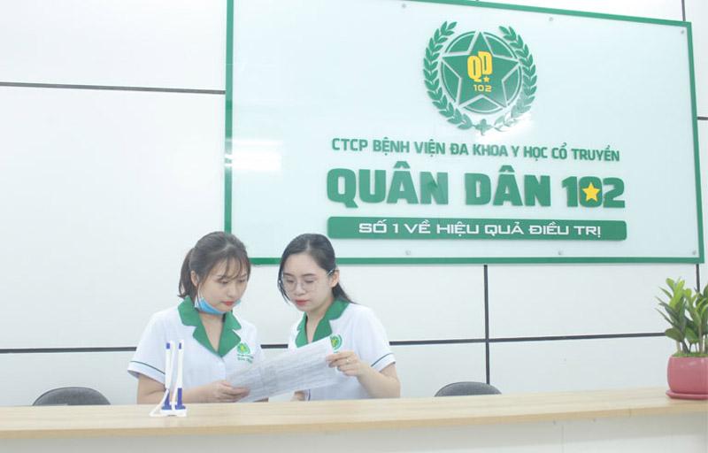Bệnh viện Tai Mũi Họng Quân dân 102 là địa chỉ uy tín chữa viêm amidan