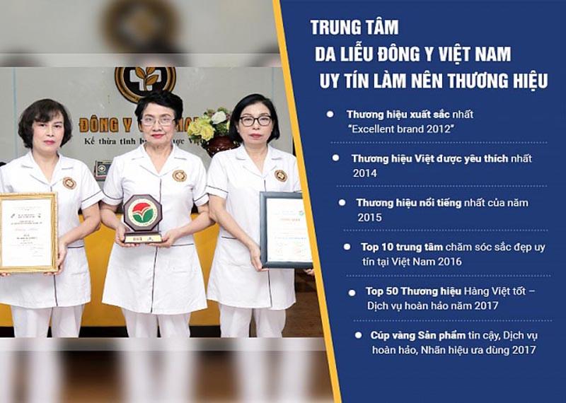 Đội ngũ y bác sĩ giỏi tại Trung tâm Da liễu Đông y Việt Nam