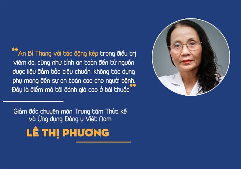 Bác sĩ Lê Phương đánh giá về bài thuốc An Bì Thang