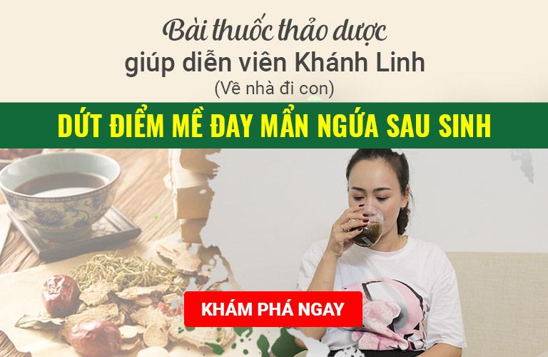 Giải mã bài thuốc quý giúp diễn viên Phùng Khánh Linh (Về nhà đi con) dứt điểm mề đay mẩn ngứa