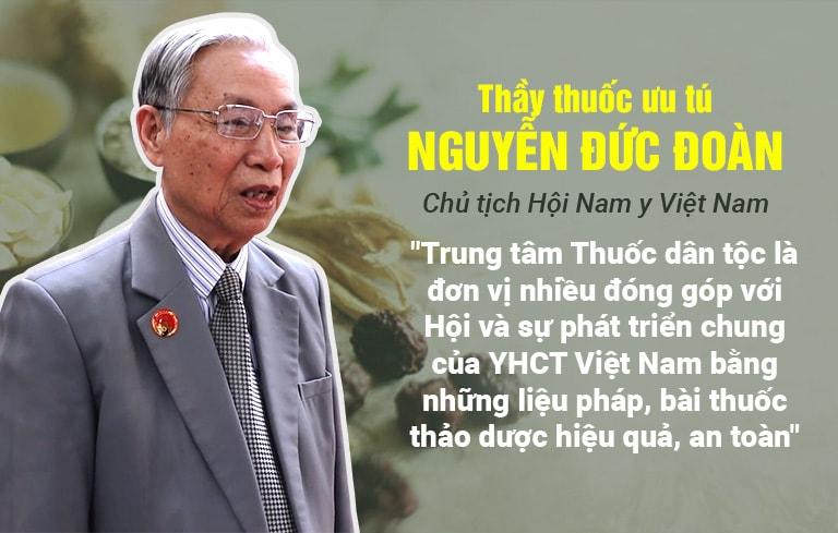 Thầy thuốc Ưu tú, Dược sĩ Nguyễn Đức Đoan chia sẻ