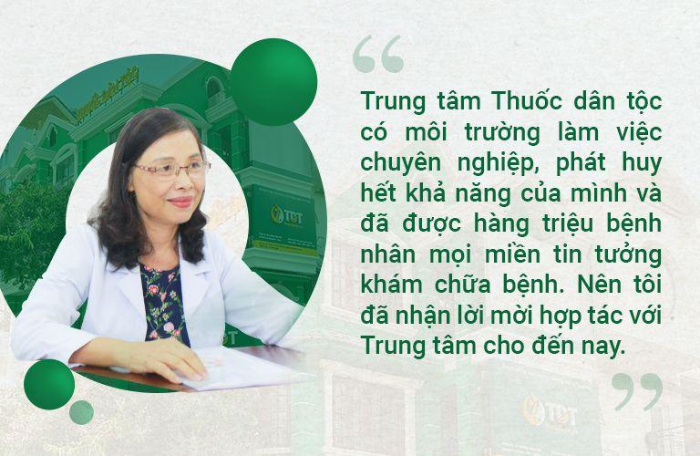 Bác sĩ Nguyễn Thị Thư chia sẻ về Thuốc dân tộc 145 Hoa Lan