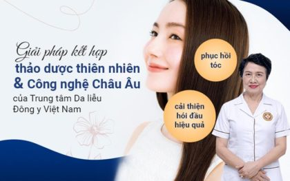phương pháp trị rụng tóc tại TTDLĐYVN