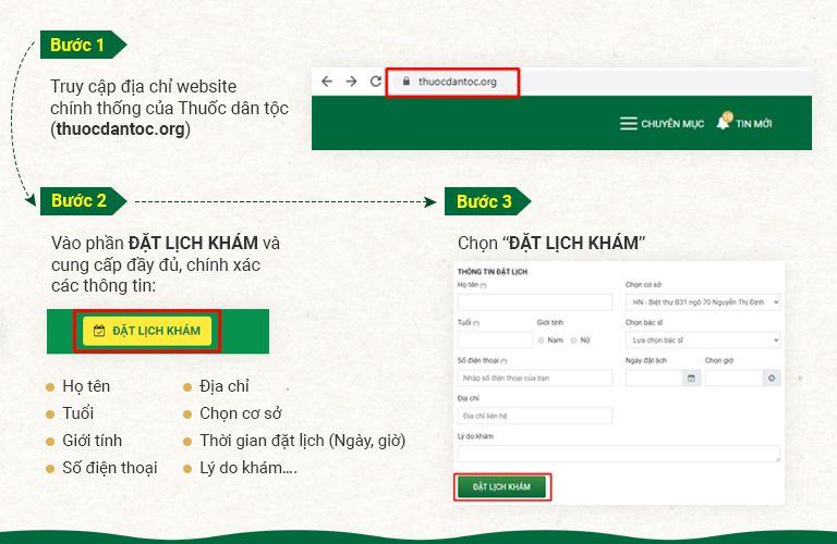 Cách đặt lịch khám bác sĩ Bùi Thanh Tùng trực tuyến