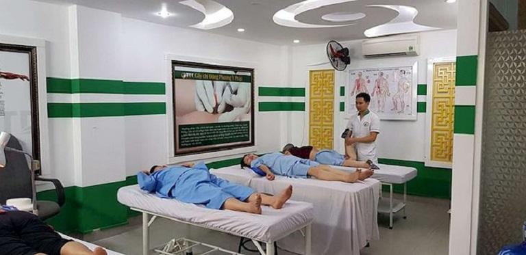 Phòng trị liệu tại Trung tâm vô cùng khang trang, sạch sẽ, đảm bảo đầy đủ tiện nghi