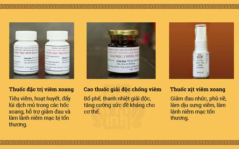Tác dụng bài thuốc viêm xoang, viêm mũi Đỗ Minh Đường