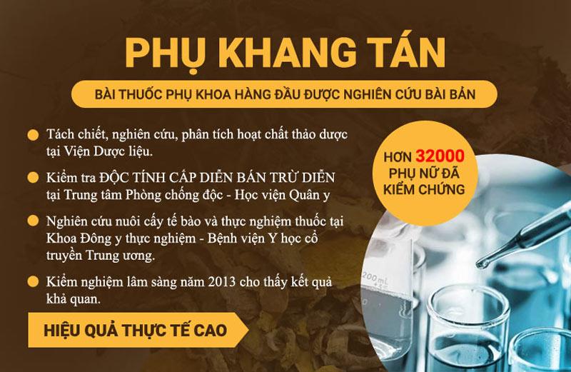 Trung tâm Phụ Khoa Đông y tổ chức nghiên cứu Phụ Khang Tán bài bản