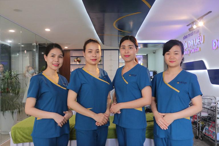 Viện Da liễu Hà Nội - Sài Gòn cam kết mang đến cho khách hàng những dịch vụ và sản phẩm hoàn hảo nhất