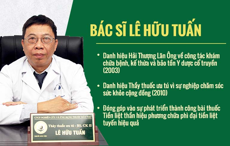 Thây thuốc Ưu tú, bác sĩ Lê Hữu Tuấn