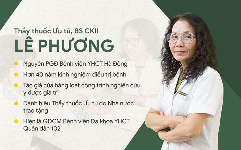 Bác sĩ Lê Phương - Giám đốc chuyên môn Quân dân 102