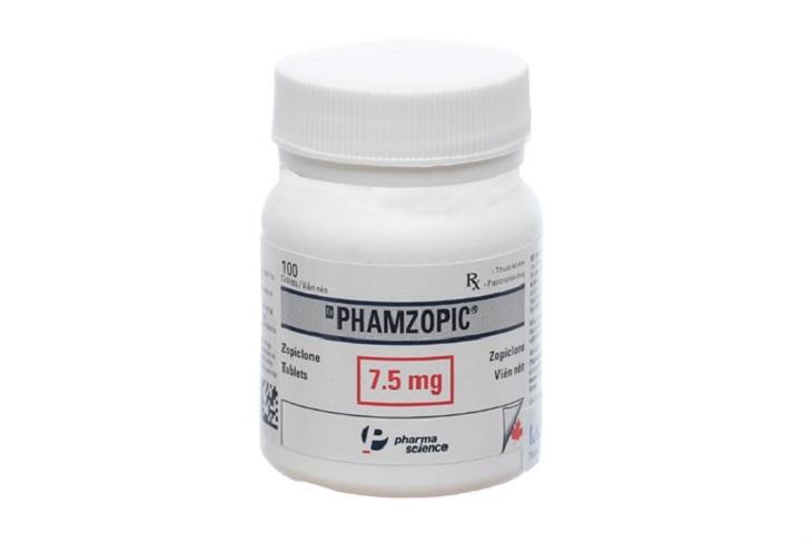 Thuốc trị mất ngủ, thuốc ngủ Phamzopic
