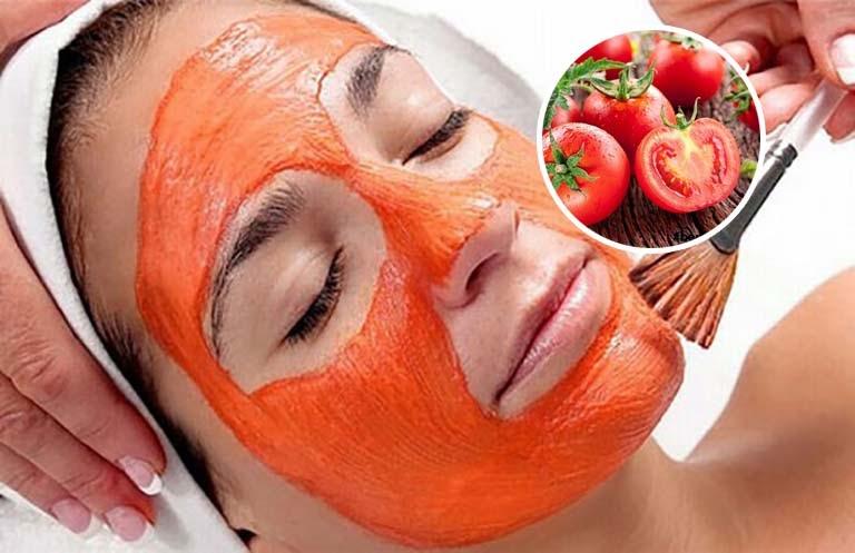 Mặt nạ cà chua cải thiện tốt vấn đề về da