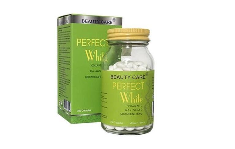 Thuốc uống trị tàn nhang Perfect White