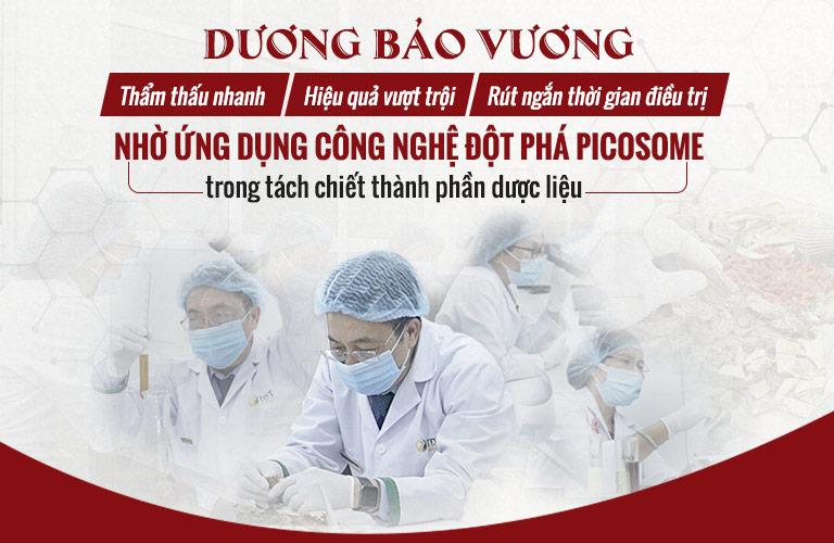 Dương Bảo Vương ứng dụng công nghệ Picosome trong tách chiết dược liệu