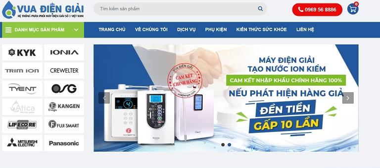 Chuỗi siêu thị cung cấp máy lọc nước ion kiềm - Vua Điện Giải chính thức ra đời