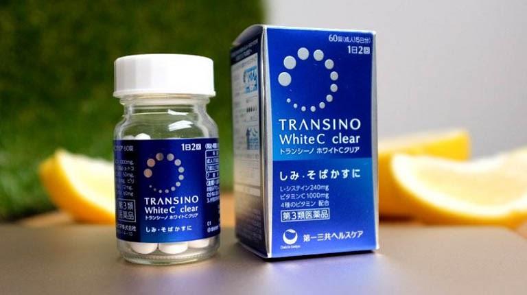 Thuốc uống trị tàn nhang Transino White C
