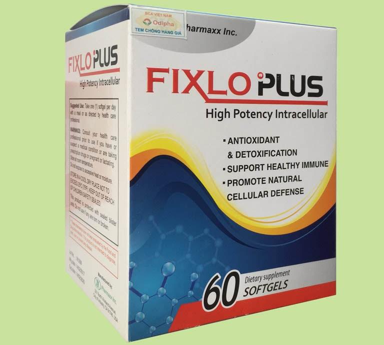 Viên uống trị tàn nhang Fixlo Plus
