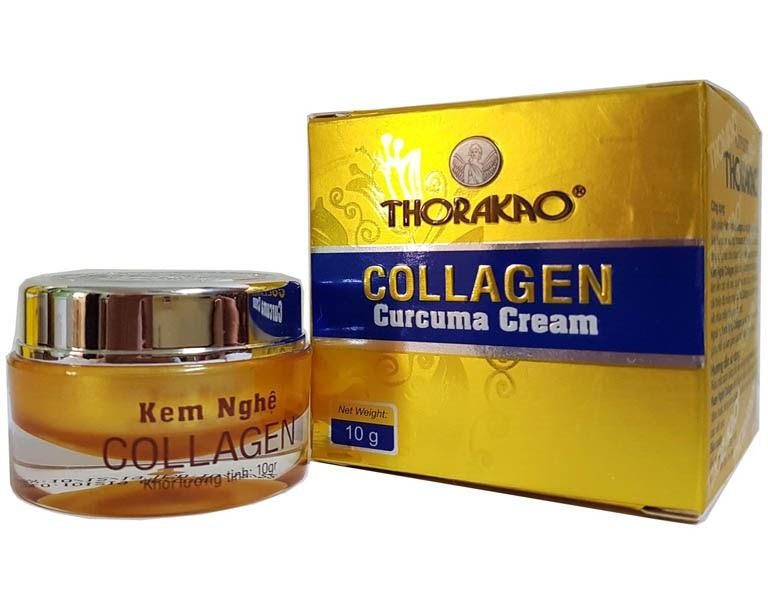 Kem nghệ Collagen có khả năng trị tàn nhang hiệu quả