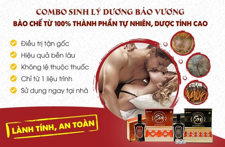 Combo sinh lý Dương Bảo Vương - Vũ khí tối thượng của đấng mày râu