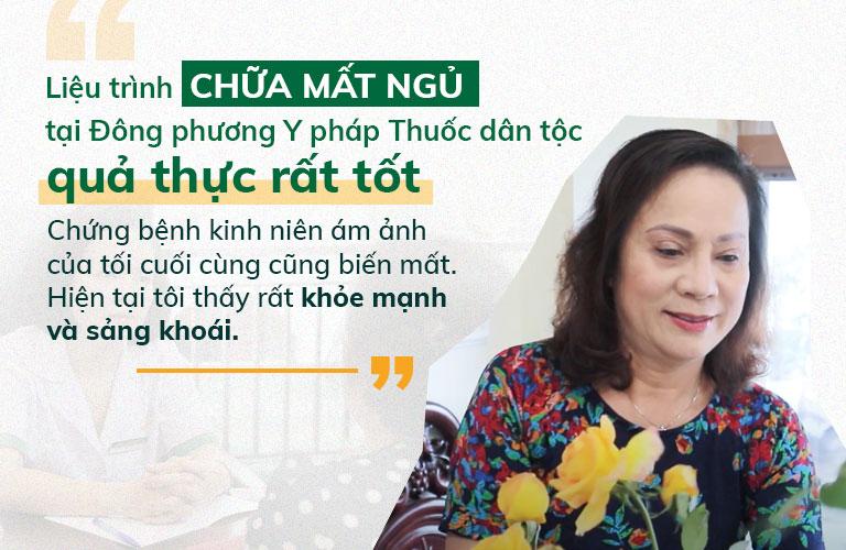 NS Hương Dung đánh giá cao hiệu quả của Đông phương Thần hiệu