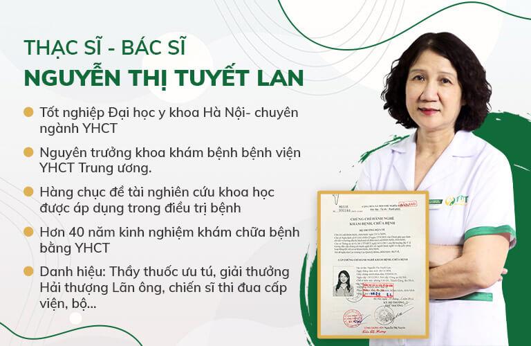 Bác sĩ Tuyết Lan chủ nhiệm đề tài nghiên cứu Sơ can Bình vị tán thế hệ 2