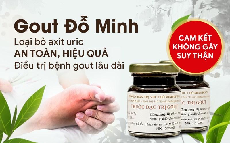 Bài thuốc Gout Đỗ Minh của nhà thuốc Đỗ Minh Đường