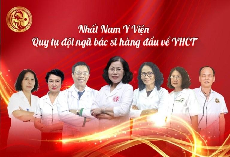 Nhất Nam Y Viện là nơi hội tụ đội ngũ y bác sĩ YHCT có tay nghề cao