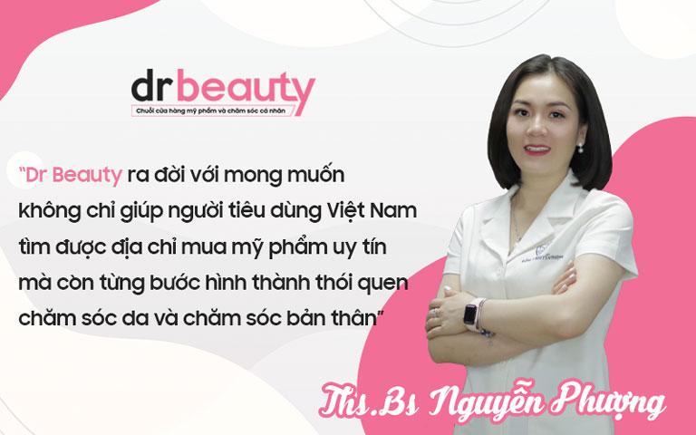 Thạc sĩ, bác sĩ Nguyễn Phượng - Nhà sáng lập Dr Beauty